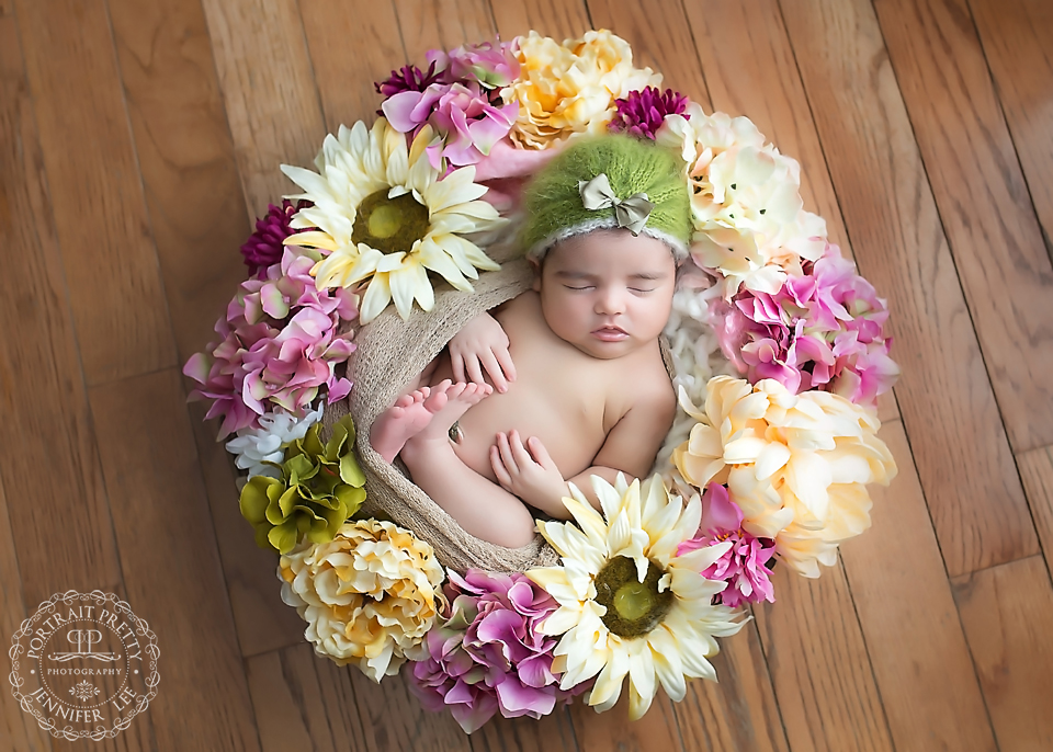 custom newborn portraits in your home buffalo ny