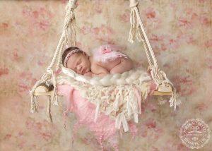 shabby chic newborn prop angel wings