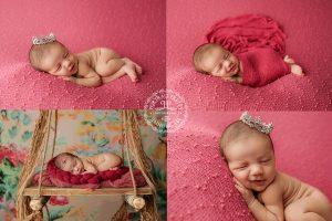 newborn photography magenta similing newborn buffalo ny photographer