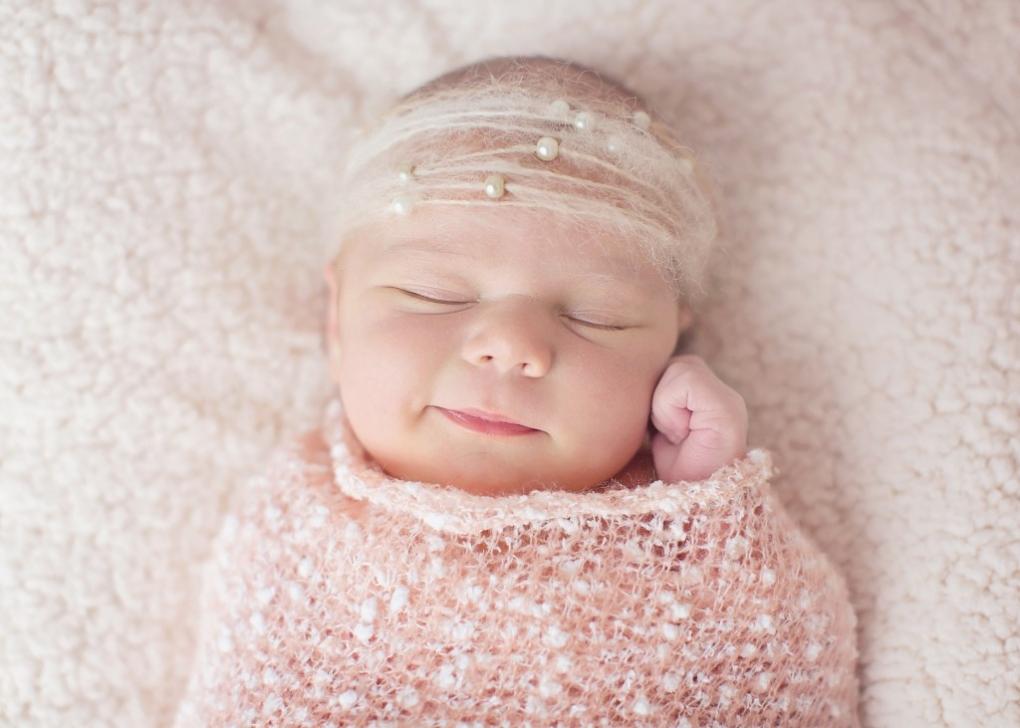 newborn girl photography buffalo ny