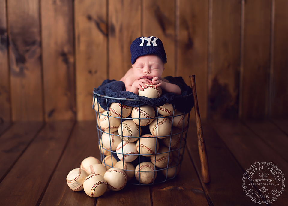 buffalo baby photography baseball