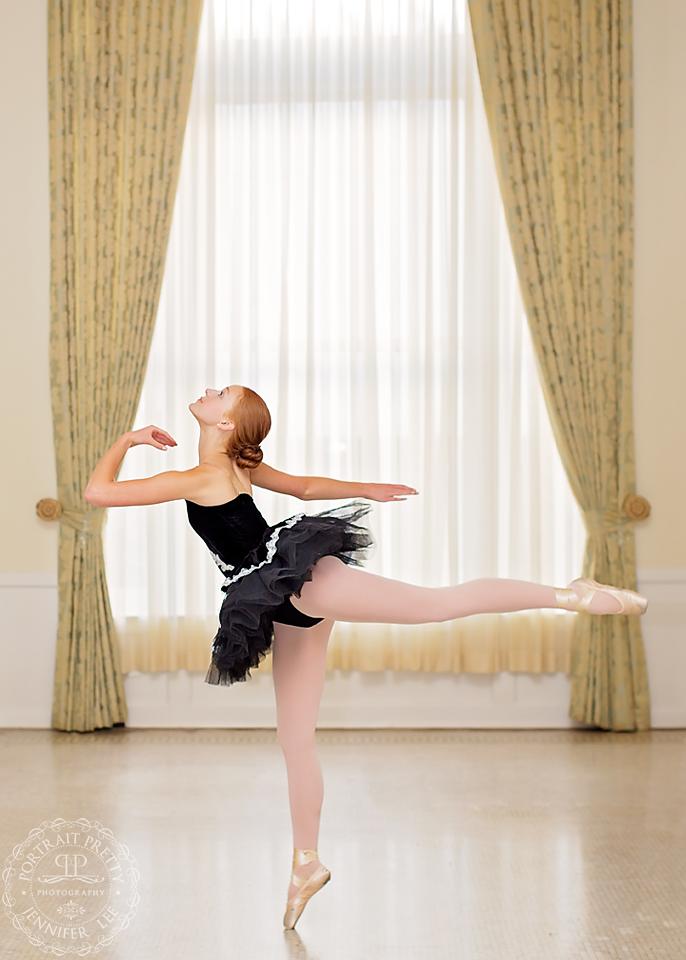 iroquios senior portraits ballet scene