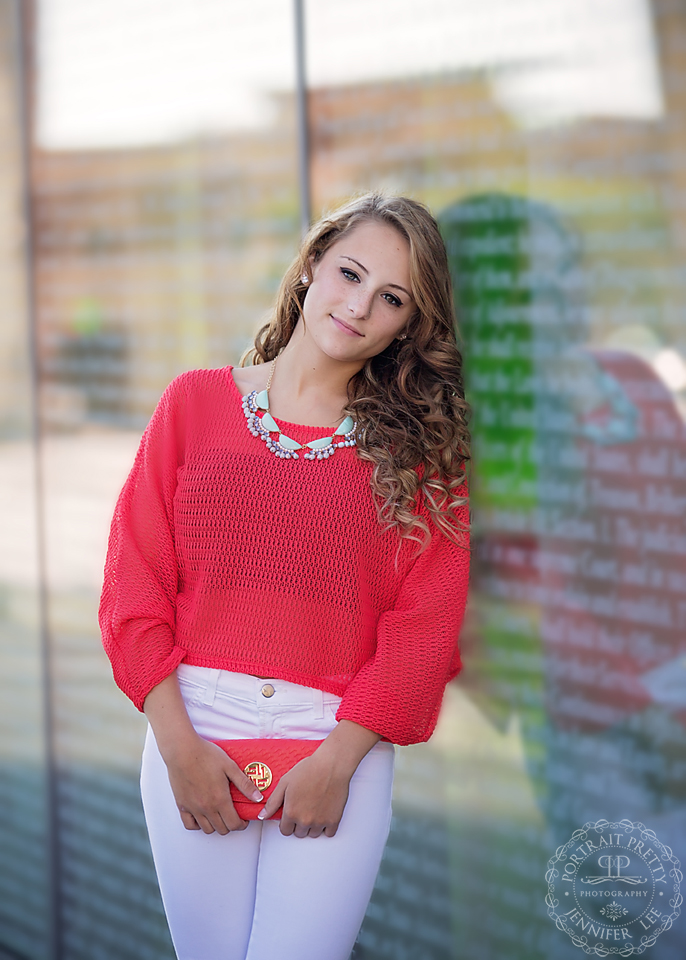 orchard park senior portraits