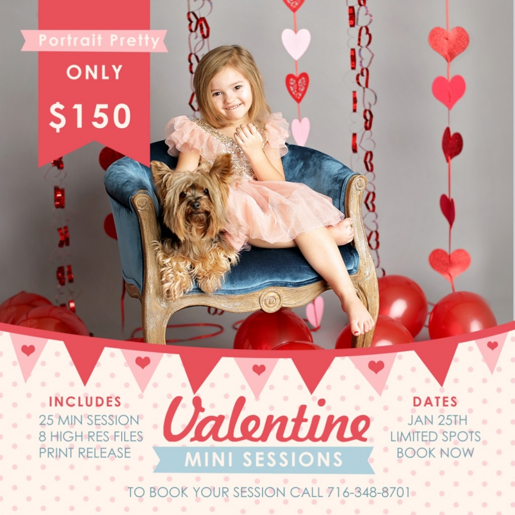 Buffalo NY Valentines Day Mini Sessions