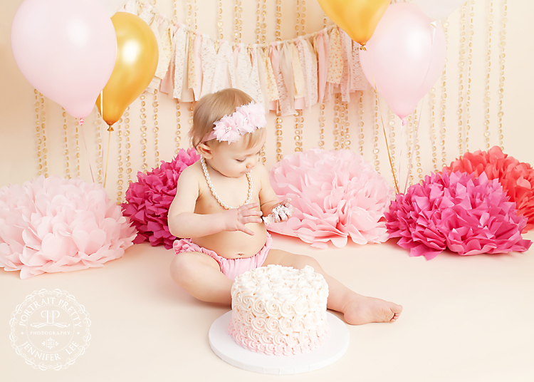first birthday photography portrait pretty WNY