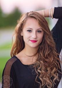senior portraits orchard park girl