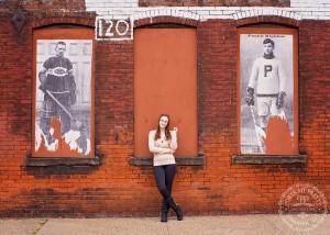Buffalo NY Cobblestone Senior Portraits Hockey Photos
