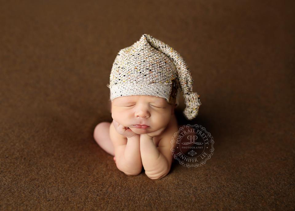Orchard Park Newborn Photographer baby boy