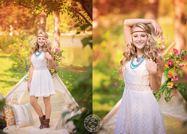 Orchard Park Homecoming Queen Senior Portraits by Portrait Pretty Photography