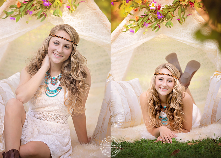 Orchard Park Senior Portraits by Portrait Pretty Photography