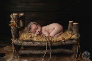 newborn-in-log-bed-baby-photographer-in-buffalo-ny