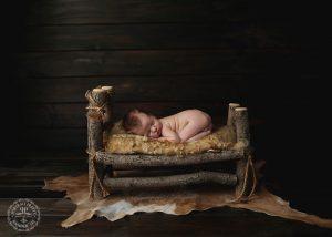 real-wood-newborn-backdrop-log-bed-buffalo-ny