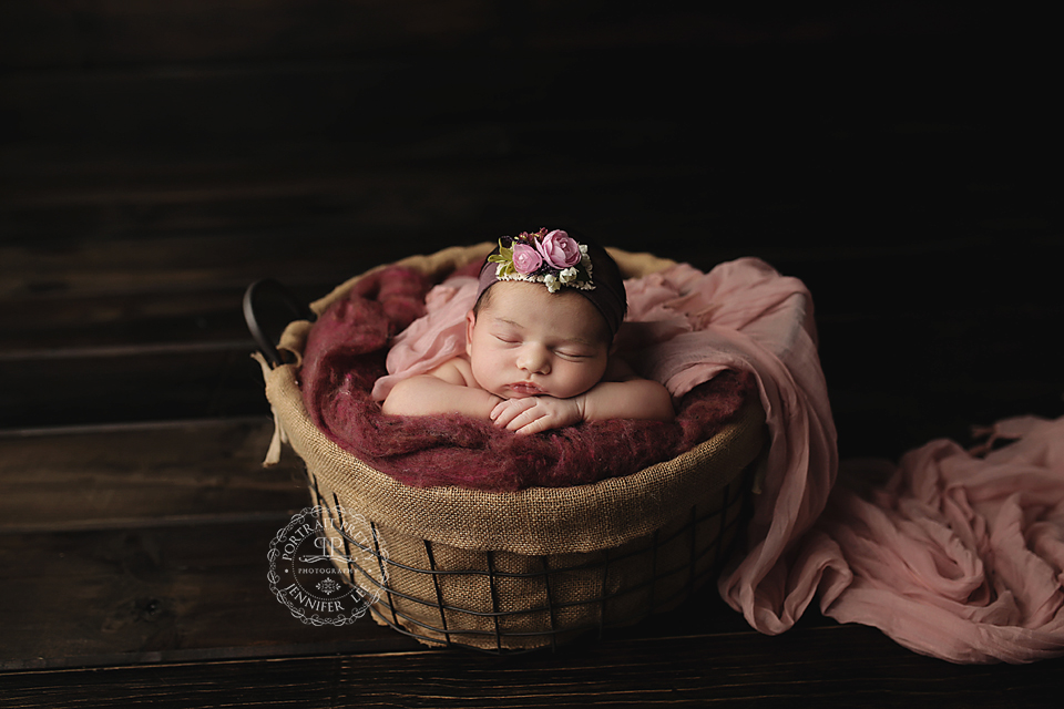 Buffalo Newborn Photographer Newborn Baby Girl